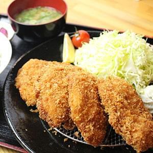 特選 チキンカツ定食 おろしポン酢