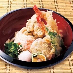 【冷】天ぷら盛りぶっかけ