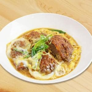 天然広島産イノシシ肉で作るカツ玉