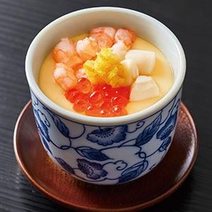 銀のさら 海鮮茶碗蒸し(柚子のせ)