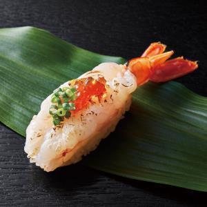 炙り大エビ(ポン酢ジュレ&青ネギのせ) 1貫 【A910】