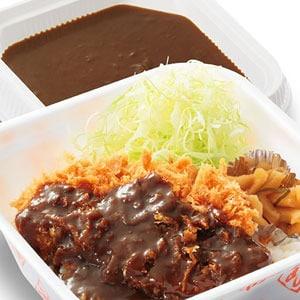 カツカレー弁当 【梅】 80gロース
