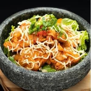 【KY2激辛】チーズプルダック丼