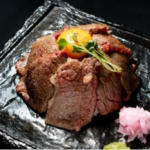 【KY19】A4黒毛和牛のカルビ焼肉丼
