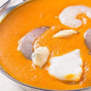 シーフードカレー/Seafood Curry