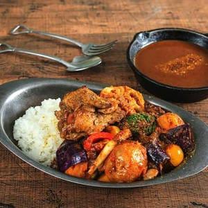 チキン&一日分の野菜カレー