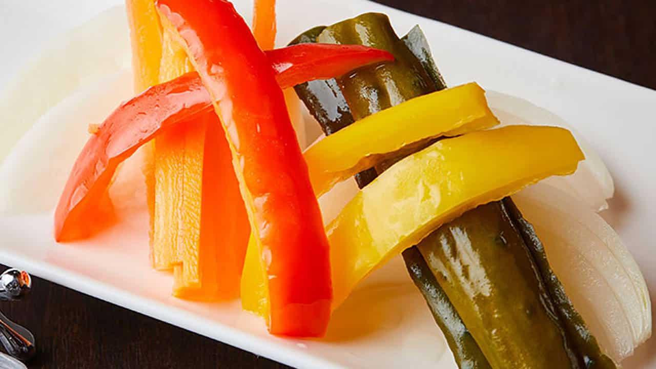 野菜の酢漬け