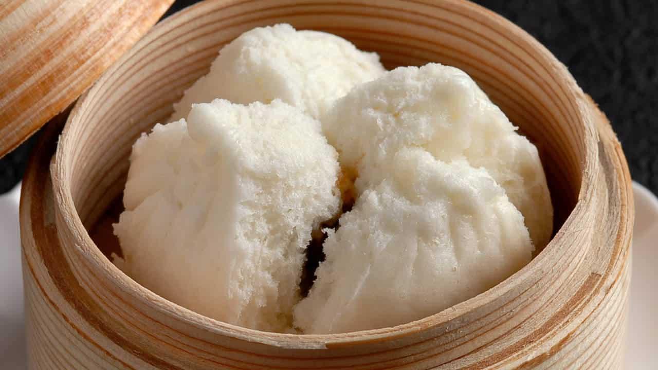 蠣油叉焼包(チャーシュー入り饅頭)
