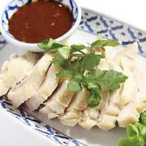 ガイサップ(タイ式蒸し鶏)