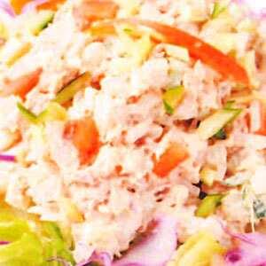 ツナサラダ tuna salad
