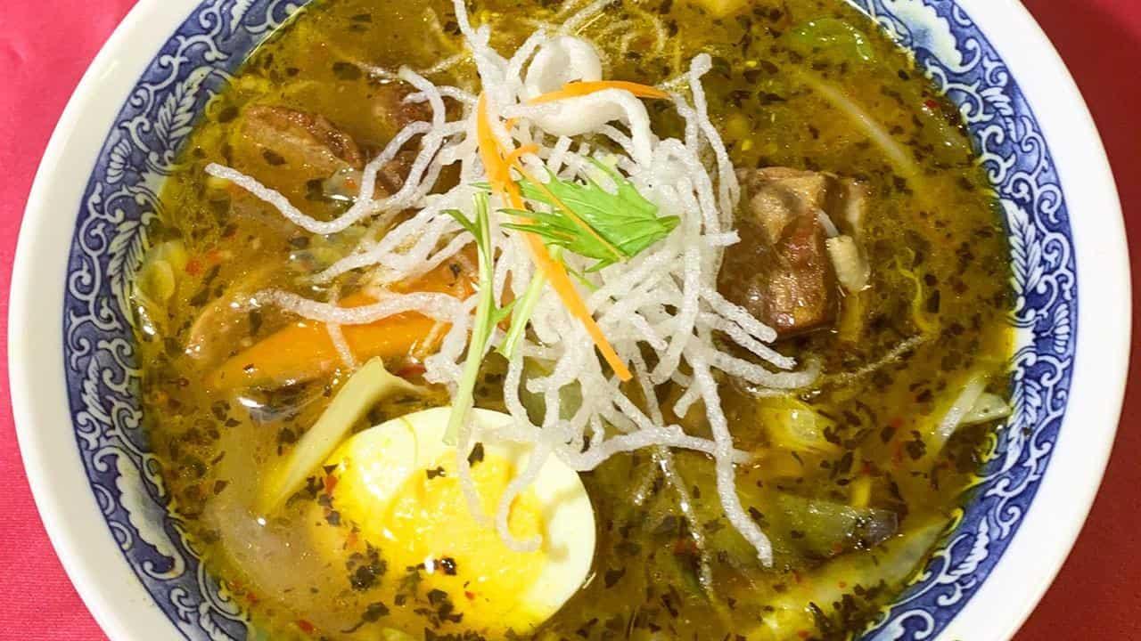 ポーク角煮スープカレー