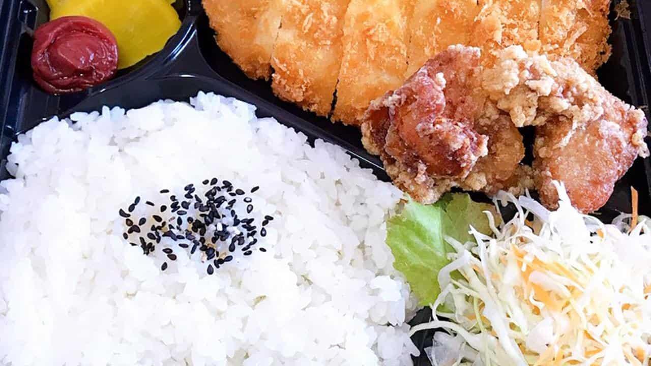 トンカツ&唐揚げ弁当