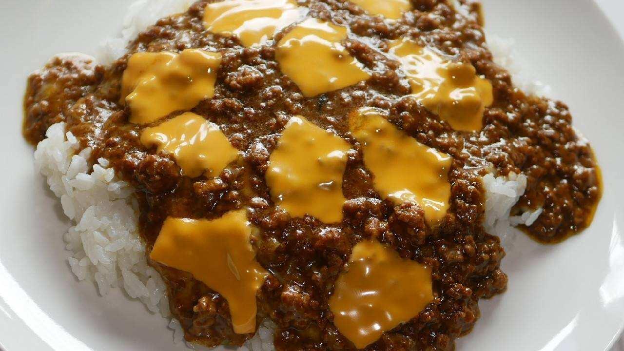 キーマカレー チーズ
