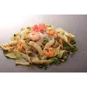 海鮮塩焼きそば Seafood salt yakisoba