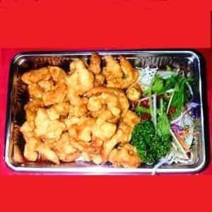 海老の天ぷら(小海老)