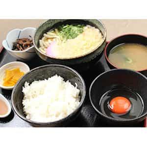 龍の卵かけご飯定食