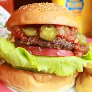 Hot Pepper Burger ホットペッパーバーガーセット