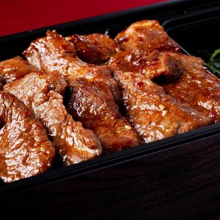 肉山の焼肉弁当 浅草店