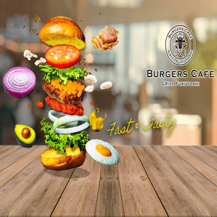 バーガーズカフェグリル フクヨシ 生野店
