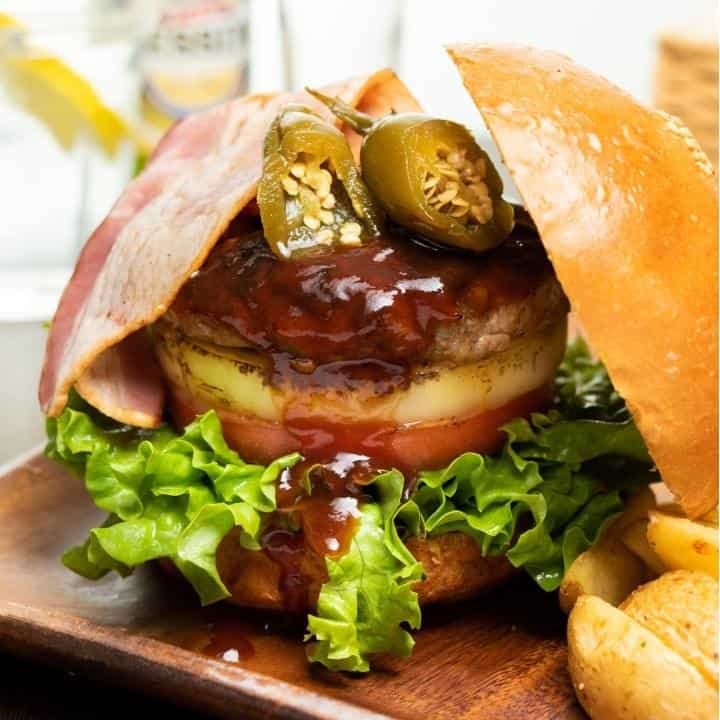 【BC23】BBQベーコンバーガー BBQ Bacon Burger