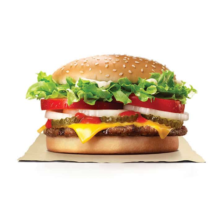 ワッパーチーズ/Whopper with Cheese