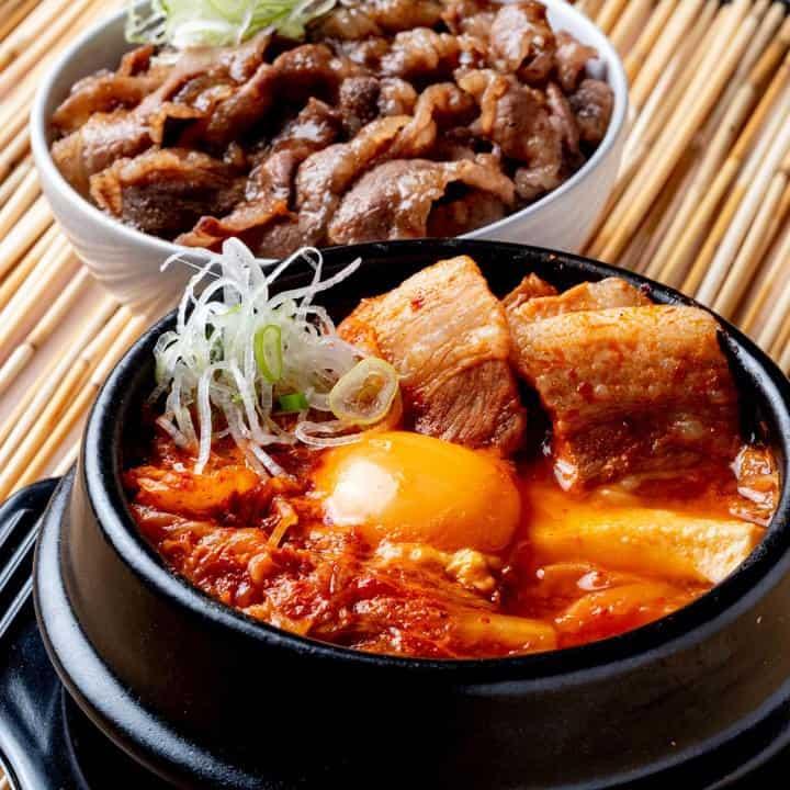 韓国カルビ丼とスンドゥブ 洞山 札幌白石店