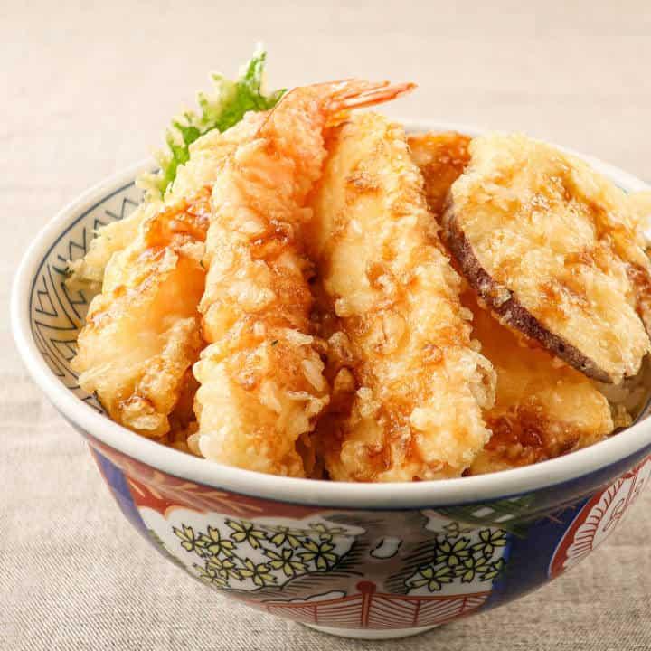 大盛海鮮天丼マウンテン 伏見桃山店