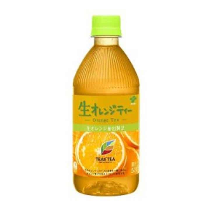 TEA NEW AUTHENTIC 生オレンジティー PET 500ml