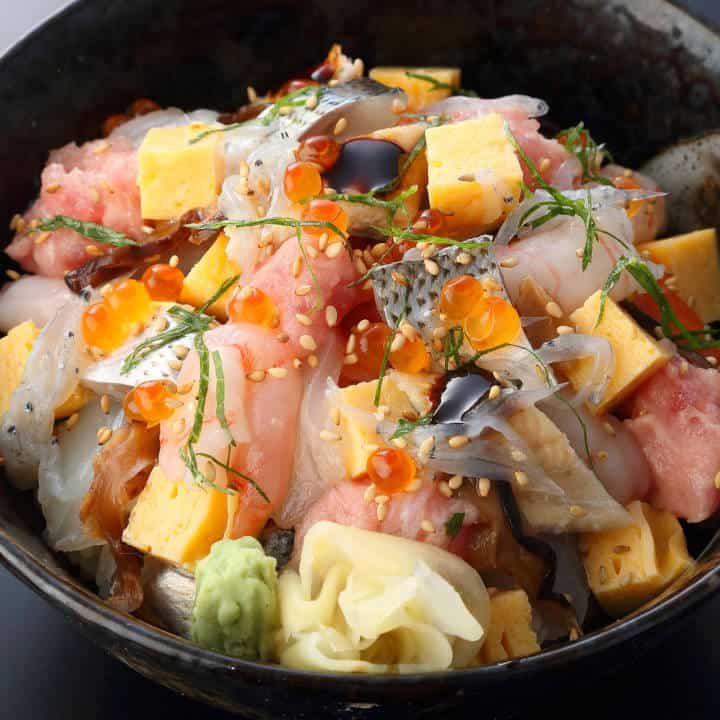 【新】特選ばらちらしAssortment of Raw Fish Bowl