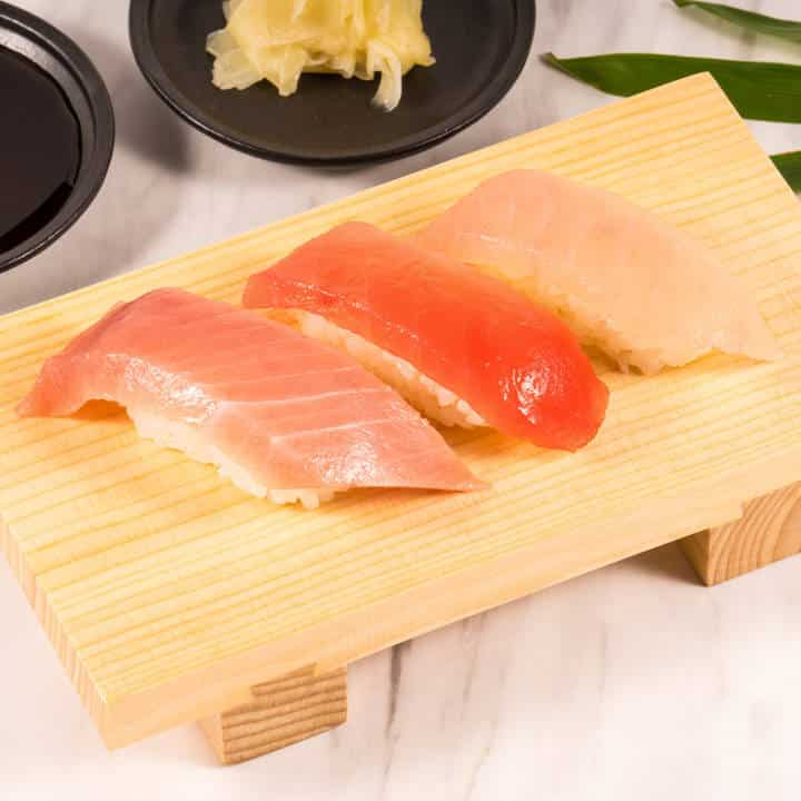 まぐろ三昧 Tuna Medium-Fat Red Albacore